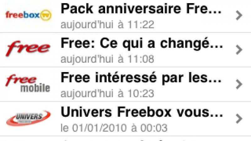 Univers Freebox lance son application sur iPhone