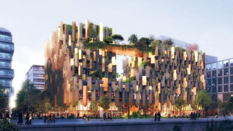 Xavier Niel co-investit dans la construction d'un hôtel écologique entre STATION F et la Bibliothèque nationale de France