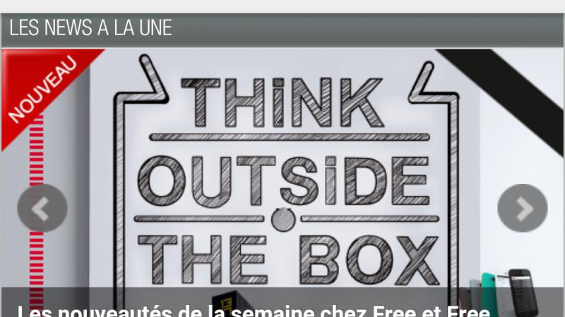 La version Android de l'application Univers Freebox a été mise à jour