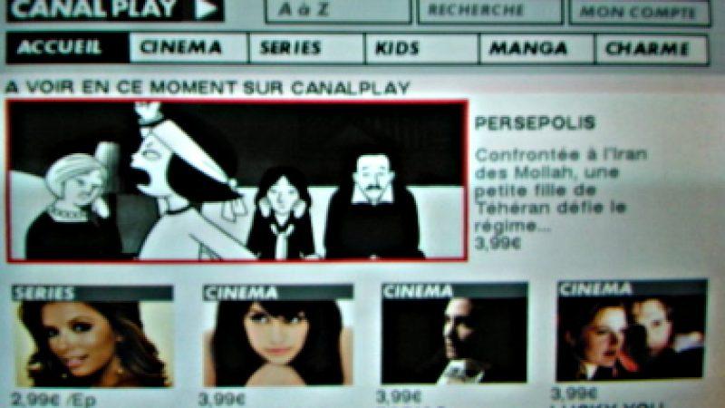 Nouvelle interface pour CanalPlay