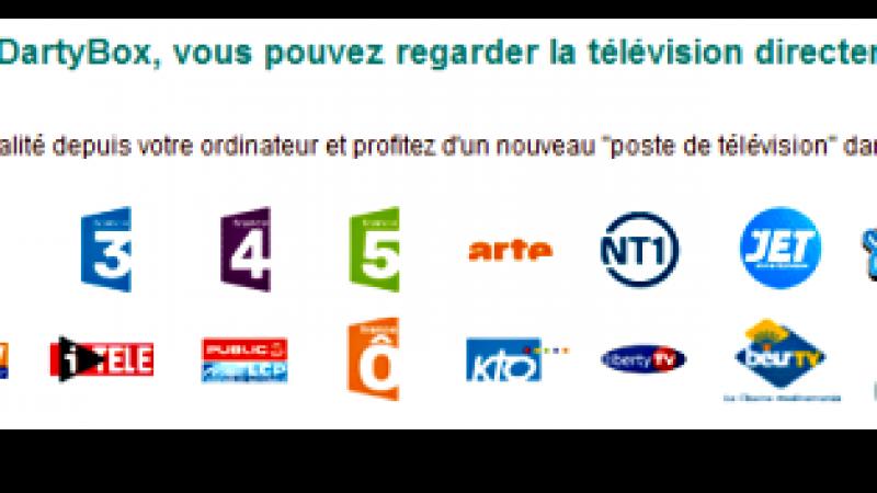 TF1 sur Dartybox mais pas chez Free !