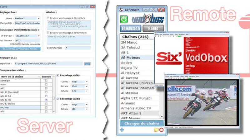 Mise à jour VODOBOX Flash Server (A22) et iPhone Server (B16)