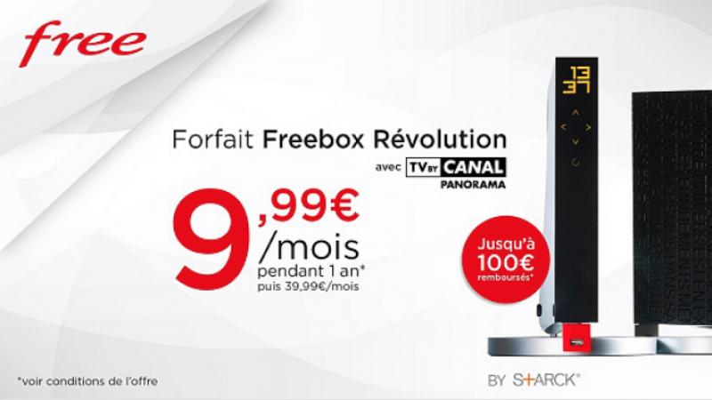 L'offre Freebox Révolution à 9,99€/mois sur Vente-Privée joue les prolongations ce week-end