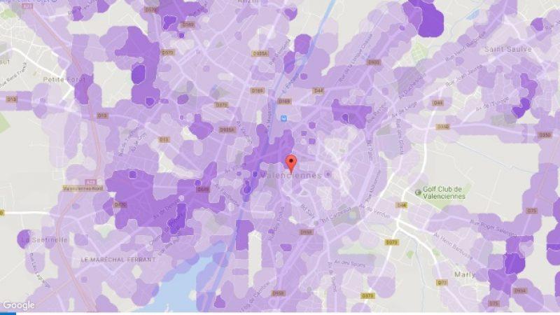 Couverture et débit 4G Free Mobile : Focus sur Valenciennes