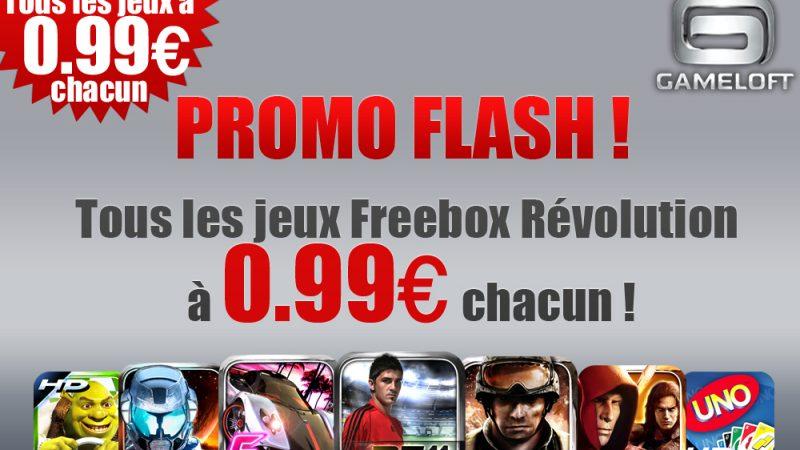 Freebox Révolution : Les jeux Gameloft à 0.99€ pour une durée limitée !