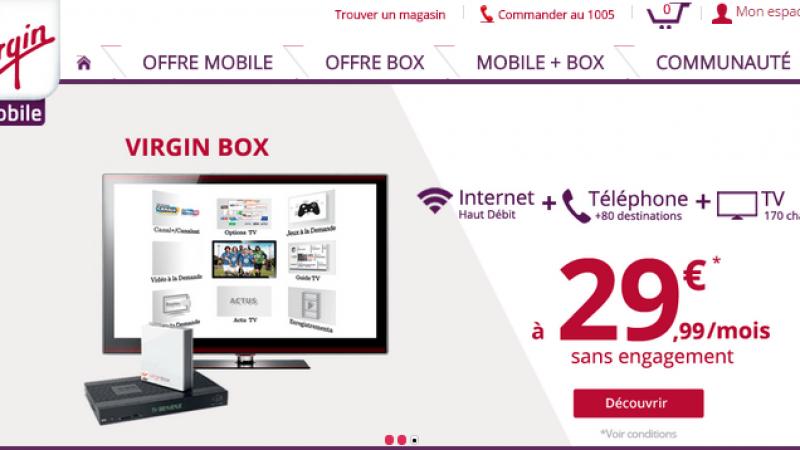 Virgin Mobile s'attaque à Free en lançant un forfait 20 Go à 15€ et une box à 29,99 €