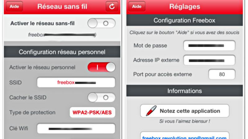 WiFi pour Freebox : Prenez le contrôle du WiFi en 1 clic depuis un iPhone