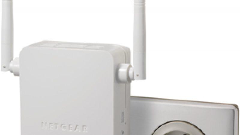 Netgear lance un nouveau répéteur WiFi N, compatible avec les box