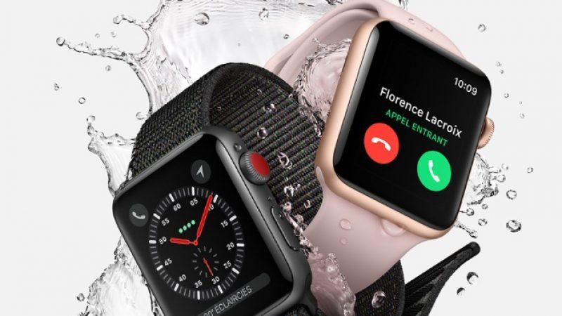 Record de ventes d'Apple Watch, deux fois plus d'unités livrées que l'année précédente en 2017