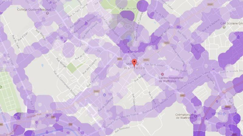 Couverture et débit 4G Free Mobile : Focus sur Wattrelos