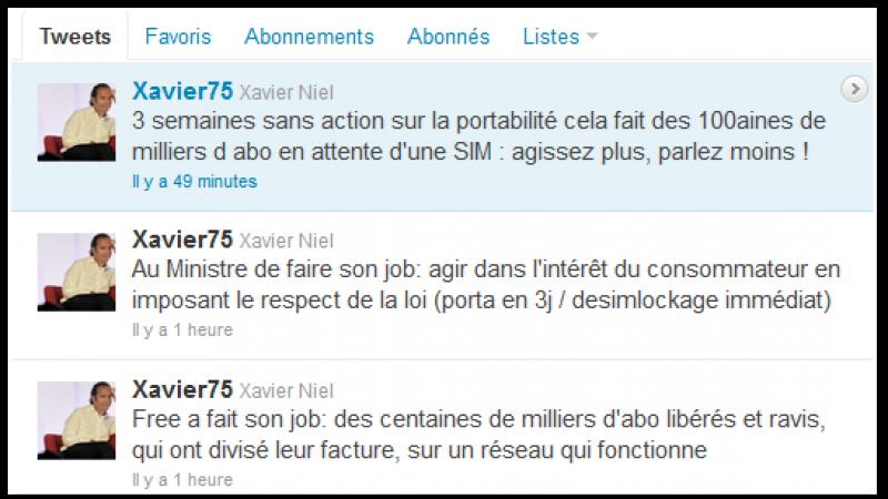 (MàJ) Free Mobile : Xavier Niel conteste sur Twitter