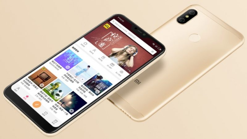 Xiaomi Redmi 6 Pro : le nouveau smartphone milieu de gamme de la marque