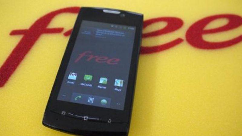 Free Mobile propose de nouveau le smartphone discount de ZTE