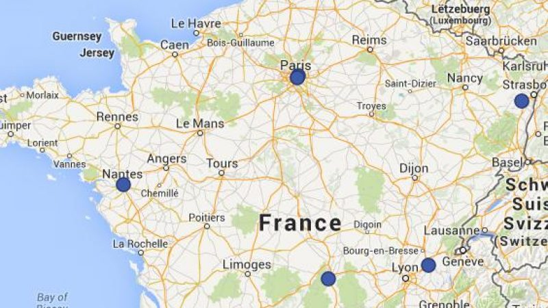 Découvrez la carte de France des distributeurs de cartes SIM de Free