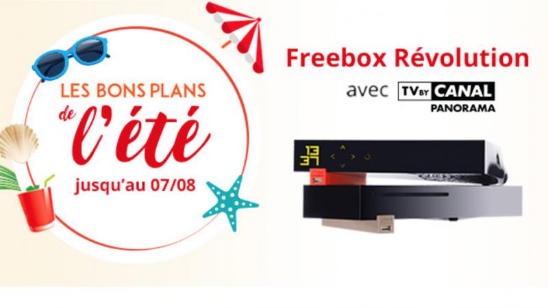 """Free : les """"bons plans de l'été"""" sur les offres Freebox, ça continue encore et encore"""