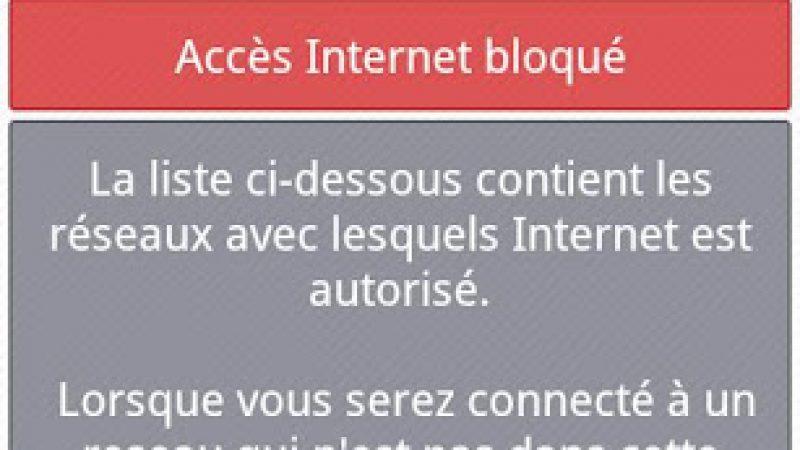 Téléchargez Accréditeur 3G afin de bloquer l'itinérance de votre abonnement Free Mobile