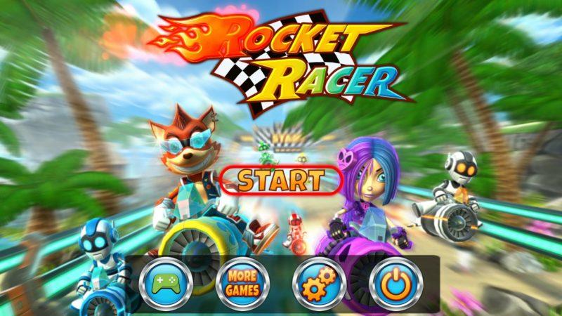 Test d'un nouveau jeu gratuit sur Freebox Mini 4K : Pilotez une fusée à toute allure avec Rocket Racer