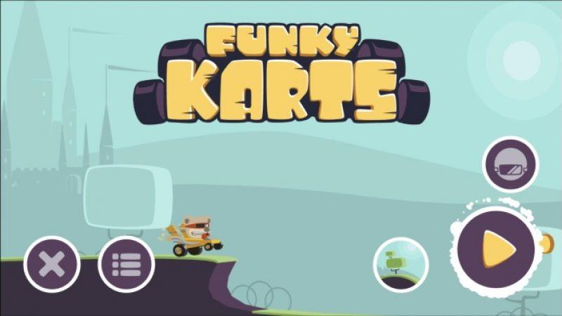 Nouveau jeu gratuit sur Freebox Mini 4K : Parcourez le monde au guidon d'un kart dans Funky Kart