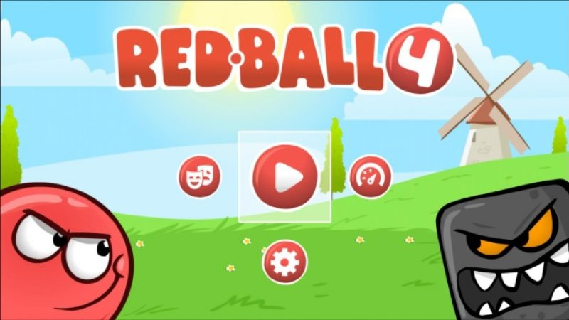 Test jeu gratuit sur Freebox Mini 4K : Red Ball 4