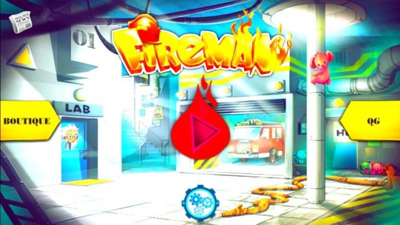 Univers Freebox a testé Fireman, un nouveau jeu de plateforme disponible sur la Freebox Mini 4K