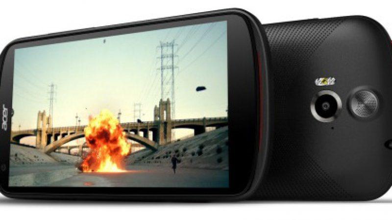 Acer présente deux Smartphones  double-SIM en entrée de gamme.
