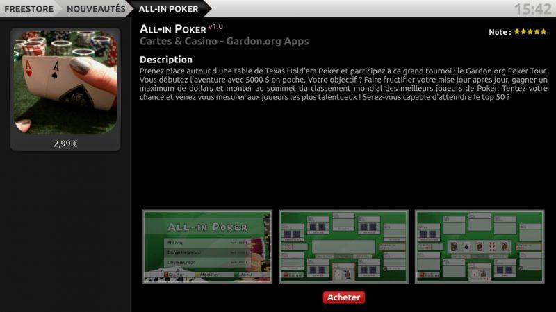 Vous pouvez désormais jouer au poker sur la Freebox Révolution