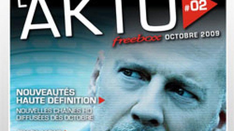 Nouveau magazine AKTU Freebox d'octobre