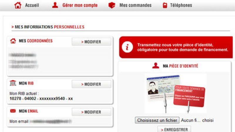 L'espace abonné Free Mobile permet maintenant de modifier son adresse postale