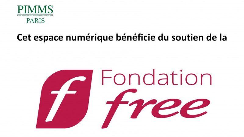La Fondation Free apporte son soutien au PIMMS de Paris avec 18 nouveaux ordinateurs
