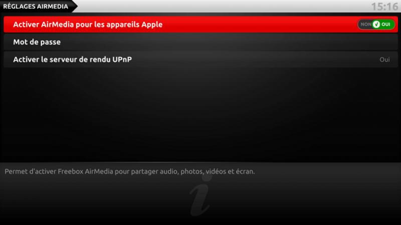 Démo : Comment utiliser AirPlay sur sa Freebox Révolution avec le nouvel iOS 10