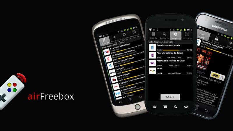 Nouvelle version d'airFreebox : Contrôlez votre Freebox du bout des doigts