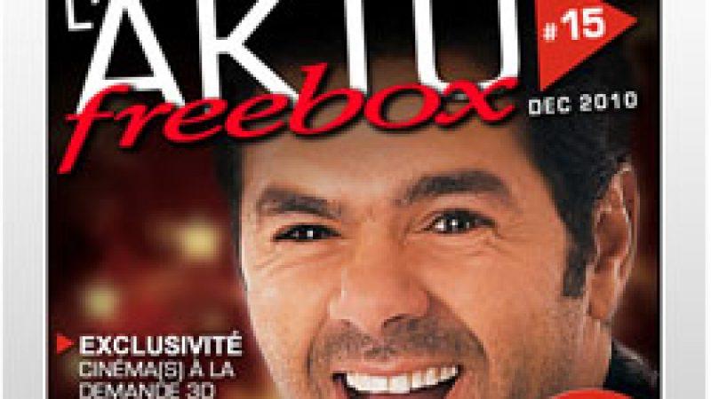 Le magazine des abonnés Free de décembre est sorti