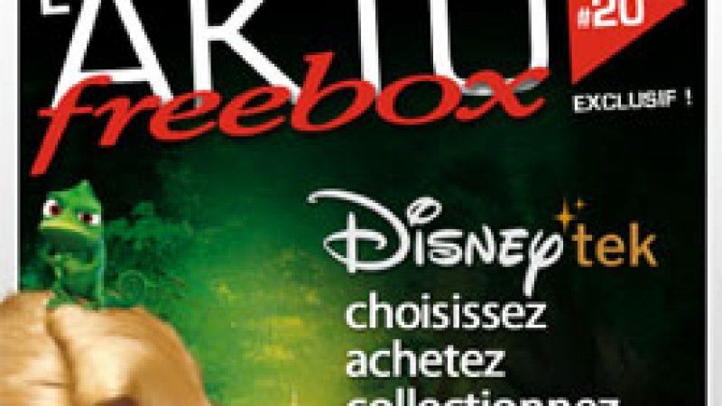 Découvrez le magazine Aktu Freebox spécial DisneyTek et ABCtek