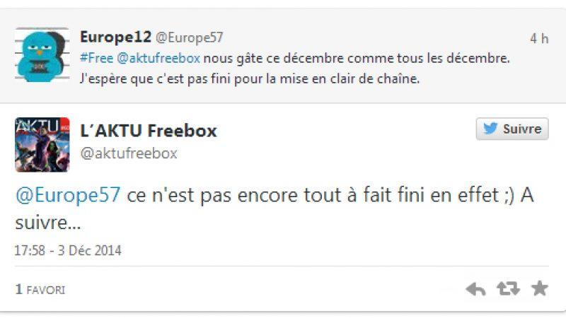 Chaînes offertes en décembre sur Freebox TV : et c'est pas fini !