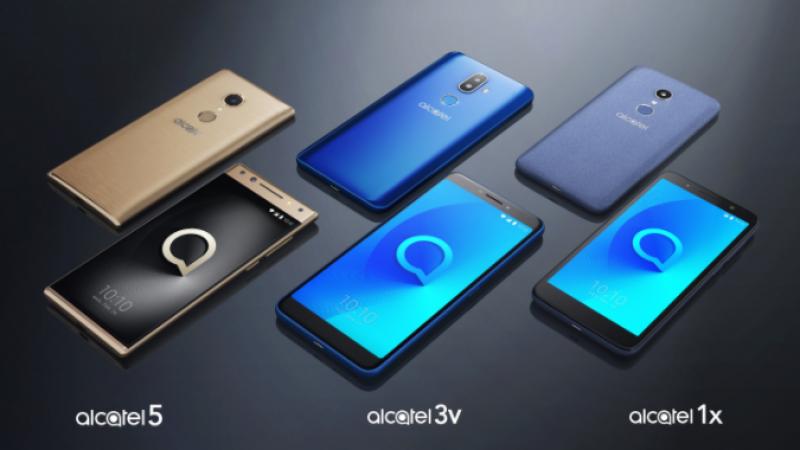 Alcatel annonce de nouveaux mobiles au format 18:9 pour 2018