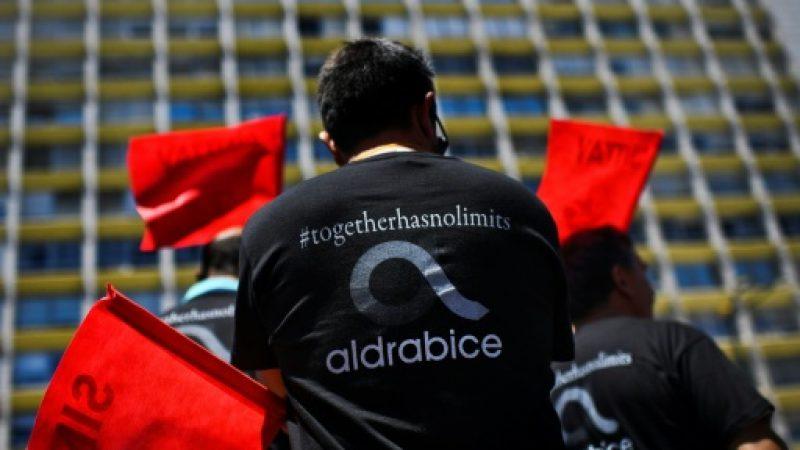 Grève et manifestation contre les projets d'Altice pour Portugal Telecom