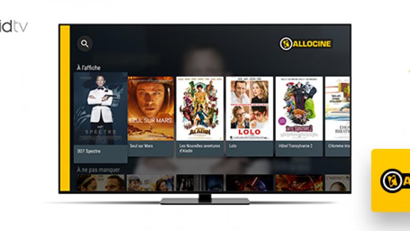 L'application AlloCiné est maintenant disponible sur la Freebox Mini 4K