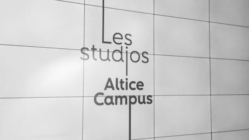 Altice présente les nouveaux studios destinés aux chaînes du groupe