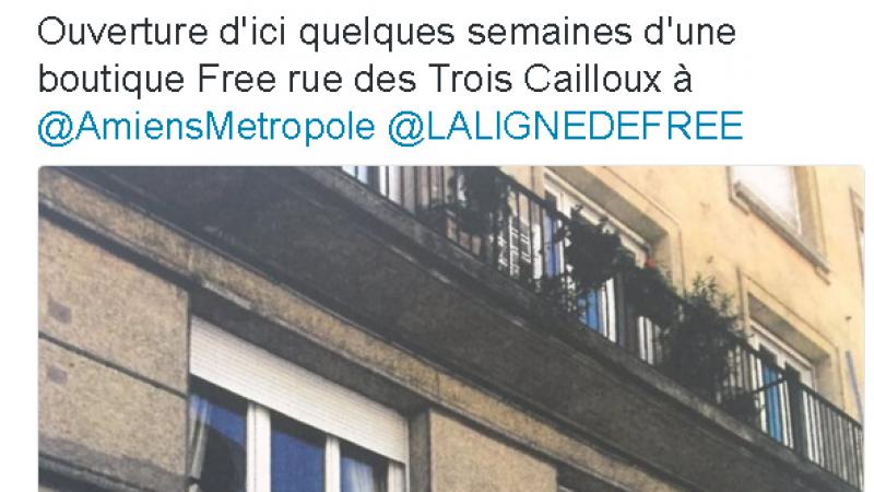 L'adjoint au Maire d'Amiens annonce l'ouverture d'une Free Center dans quelques semaines