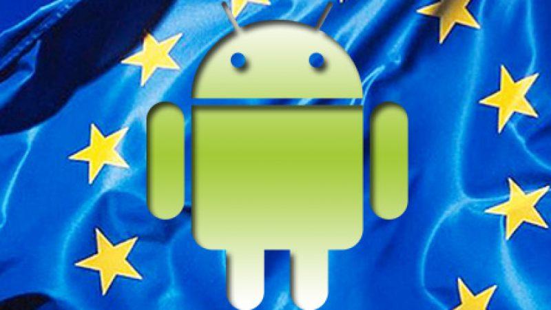 Google donne le choix de leur navigateur aux utilisateurs d'android suite aux sanctions de l'Europe
