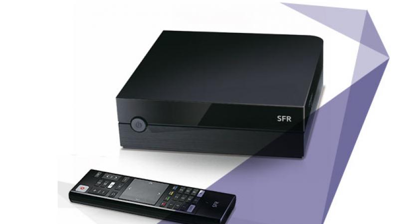 SFR stoppe la commercialisation de son décodeur TV avec Google Play