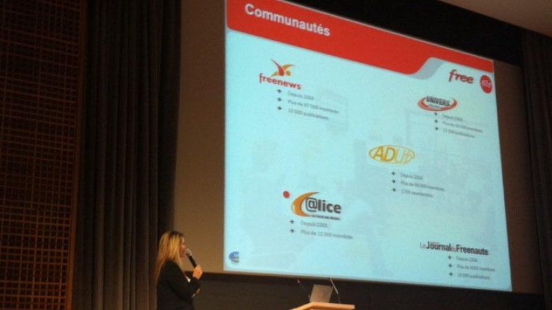 Les sites communautaires de Free mis en avant lors d'un séminaire EDF