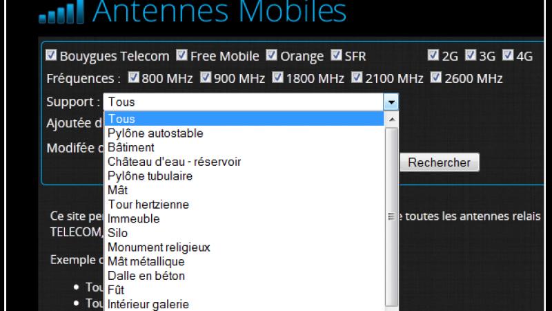 Free Mobile : un réseau mobile de 2426 antennes-relais