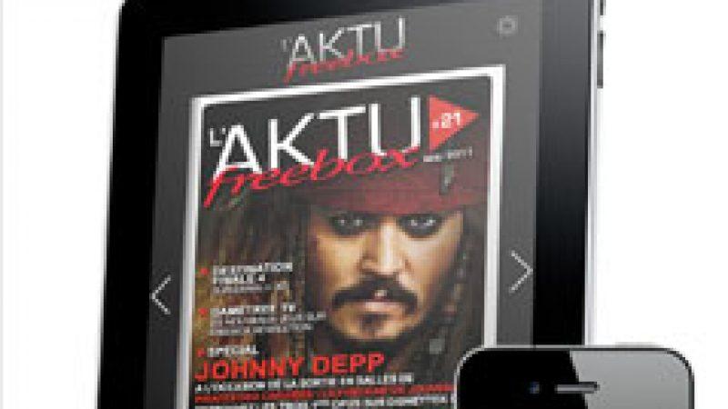 Nouvelle application Aktu Freebox sur iPhone et iPad