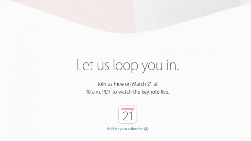Apple dévoilera ses nouveaux terminaux le 21 mars prochain