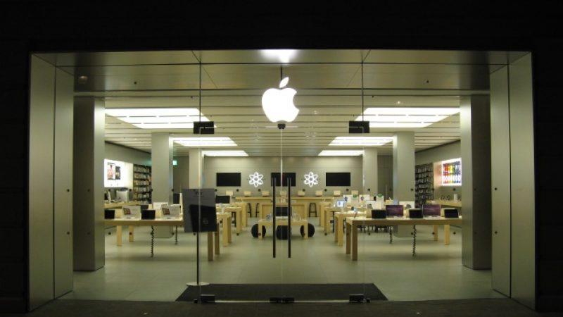 Apple : l'homme qui a saccagé un Apple Store écope d'une lourde sanction