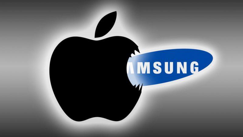 Apple domine Samsung au dernier trimestre 2016