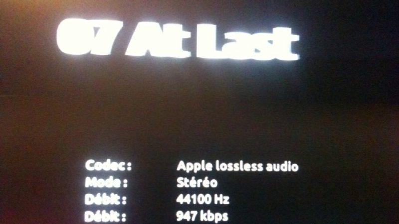 La Freebox Révolution gère maintenant le format audio Apple Lossless ALAC