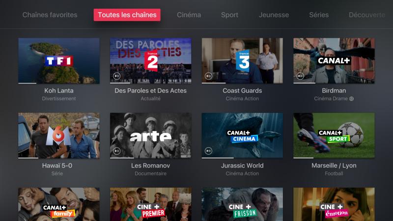 MyCANAL sera disponible jeudi sur Apple TV pour les abonnés Freebox Révolution & TV by Canal