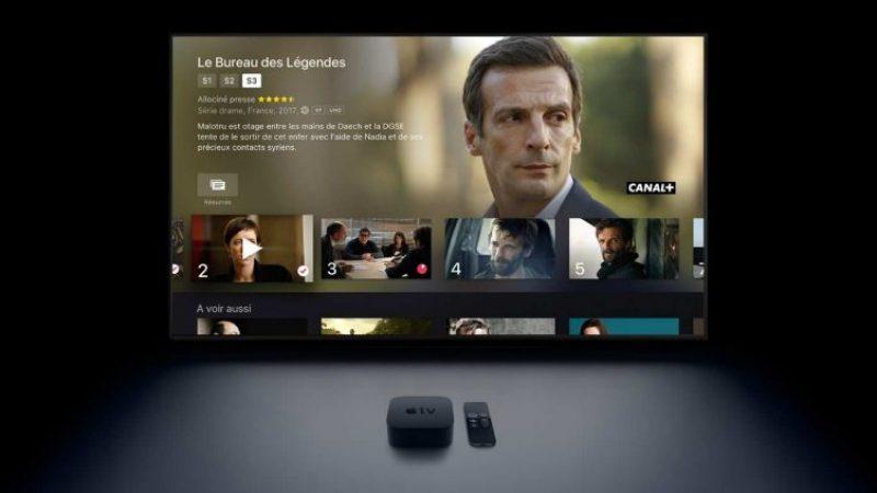 Canal+ lance ses contenus 4K en association avec Apple